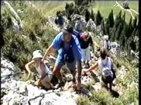 Klettersteig Tegernsee : Tegernseer hütte youtube