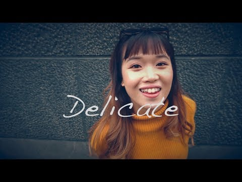 Taylor Swift  Delicate  cover by Vivien Loh