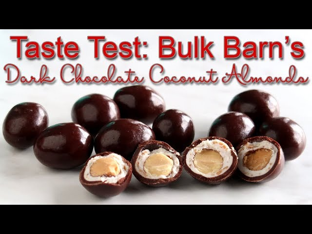 Bulk Barn's Dark Chocolate Coconut Almonds