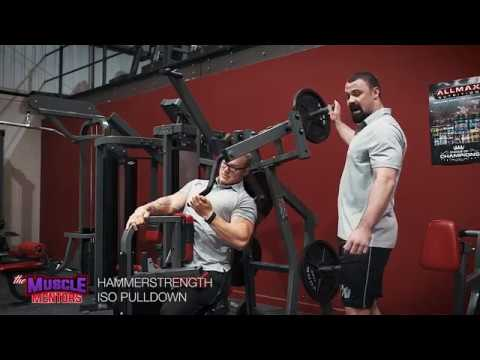 Exercise Tutorial - Hammer Strength Iso Pulldown