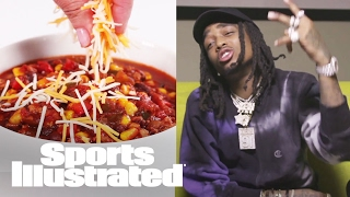 Migos Cooks Up Dope (Chili) In A Crockpot Recipe | Extra Mustard | Sports Illustrated