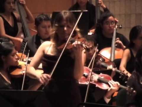 Lee Actor Violin Concerto (Fragments) Pip Clarke, P. Aizaga Orquesta Filarmónica de Ecuador