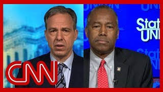 Tapper presses Ben Carson on Trump's retweet about George Floyd