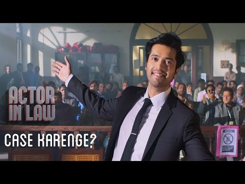 Case Karenge? | Fahad Mustafa And Mehwish Hayat | Movie Scene | Actor In Law 2016