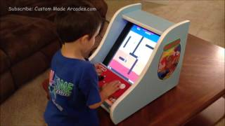 Custom Made Arcades: Donkey Kong Bartop Mini Arcade 60 In 1 Jamma Icade Card
