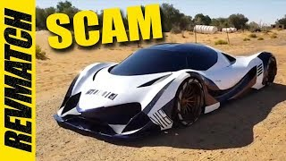 World's Most Powerful Supercar Replica Is A Scam