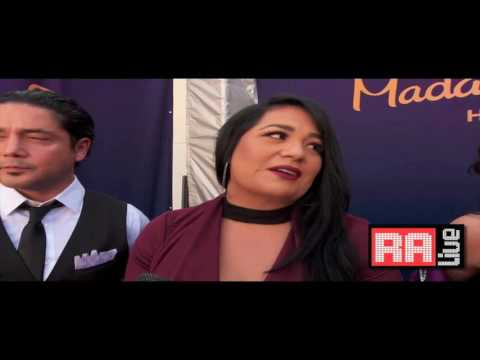 Selena Wax Figure Suzette AB Quintanilla & Chris Perez Interview