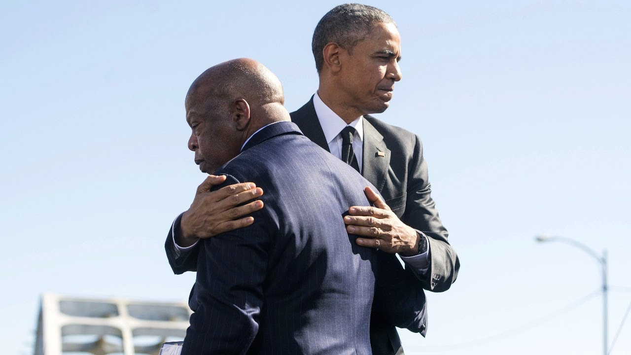 TRANSCRIPT: 'What A Gift John Lewis Was': Obama Eulogizes His ...