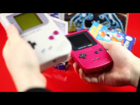Classic Game Boy VS Game Boy Color
