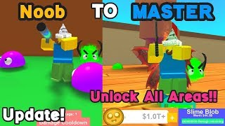 Noob To Master! 0 To Trillion Coins! Update Toy Land!  - Blob Simulator