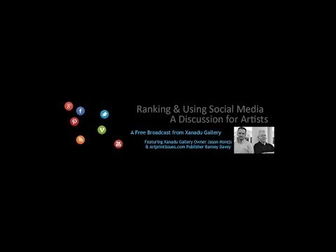 Ranking and Using Social Media | A Conversation for Artists