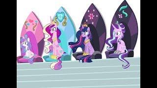 MLP SpeedPaint - The Royal Princesses In The Future (Base Edit)