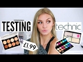 TESTING TECHNIC MAKEUP | Does it work?!