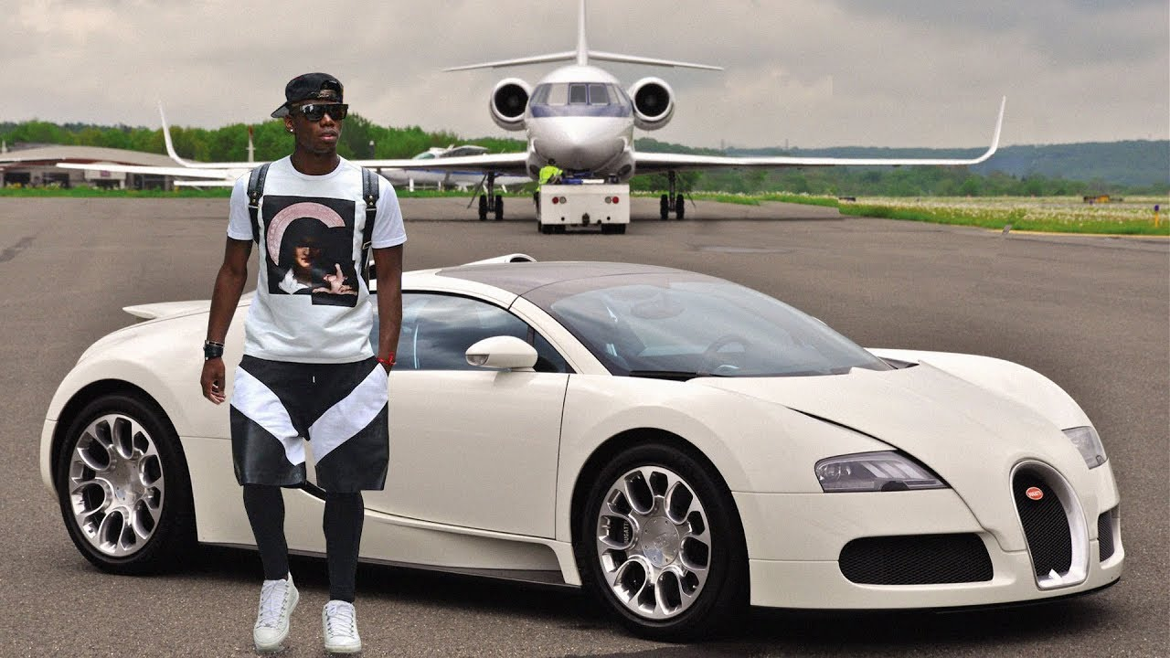 paul pogba new car collection private jet 2018 youtube. Black Bedroom Furniture Sets. Home Design Ideas