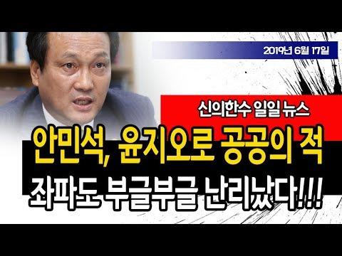안민석, 윤지오로 공공의 적 난리났다!!! (일일 뉴스) / 신의한수 19.06.17