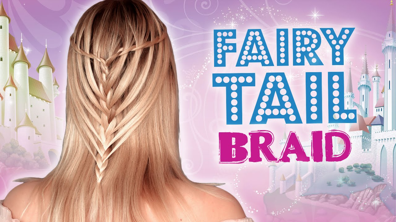 French Waterfall Braid Mermaid Hairstyle For Medium Long