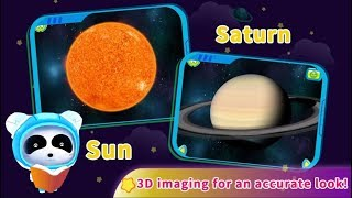 Baby Panda  Gấu trúc Panda The Solar System Trò chơi vũ trụ, hệ mặt trời