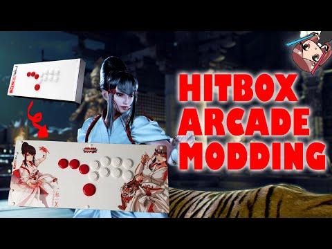 HOW TO: Modding a Hitbox Arcade with Kazumi Custom Artwork