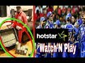 Watch'N Play ! Live hotstar VIVO IPL Cricket (2018)