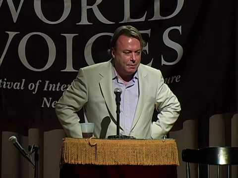 Christopher Hitchens: The Fifth Annual Arthur Miller Freedom to Write Lecture