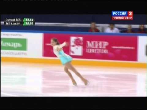 Чемпионат России по фигурному катанию 2015. FS. Юлия Липницкая