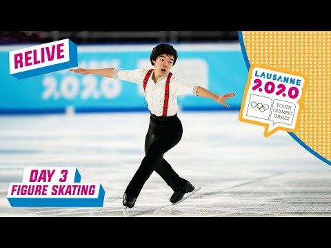 RELIVE - Figure Skating - Men's Single Free Programme - Day 3 | Lausanne 2020