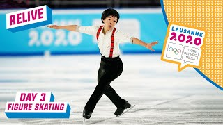 RELIVE - Figure Skating - Men's Single Free Programme - Day 3   Lausanne 2020