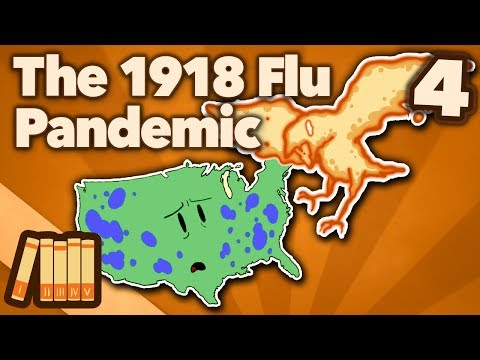 The 1918 Flu Pandemic - Fighting the Ghost - Extra History - #4