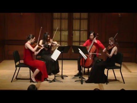 Mendelssohn String Quartet A minor, Op, 13: Presto–Adagio non lento (4th movement)