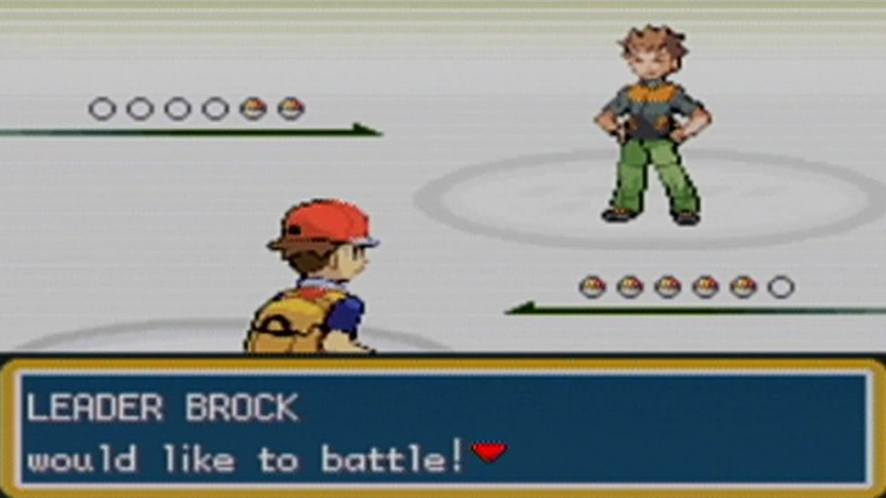 Pokemon FireRed Nuzlocke Part 3: Hard as a Brock