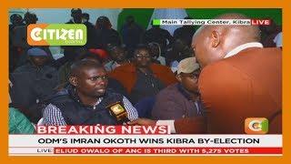 ODM's Party candidate Benard Okoth wins Kibra by-election