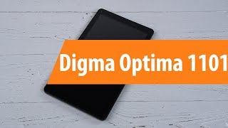 Распаковка Digma Optima 1101 / Unboxing Digma Optima 1101