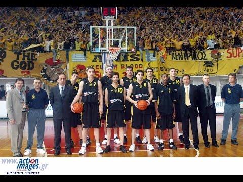 Aris Thessaloniki - KK Hemofarm Vrsac 73-66  Semi final - Champions cup  2/5/03
