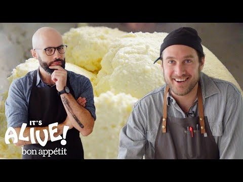 Brad and Babish Make Ricotta Cheese | It's Alive | Bon Appétit
