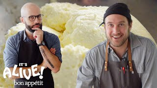 Brad and Babish Make Ricotta Cheese | It