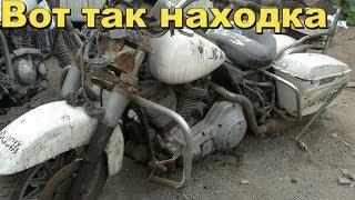Обнаружили склад старых мотоциклов!В поисках Золота и Старины с Дмитрием.