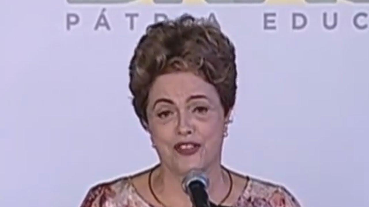 Um Pequeno YTPBR - Dilma Saúda as Genitais