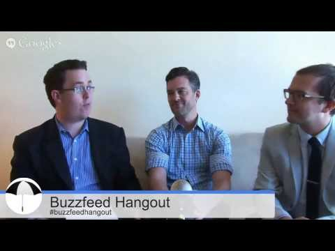 Buzzfeed hangs out with Mumbrella's Nic Christensen