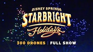 Starbright Holidays Drone Show at Walt Disney World