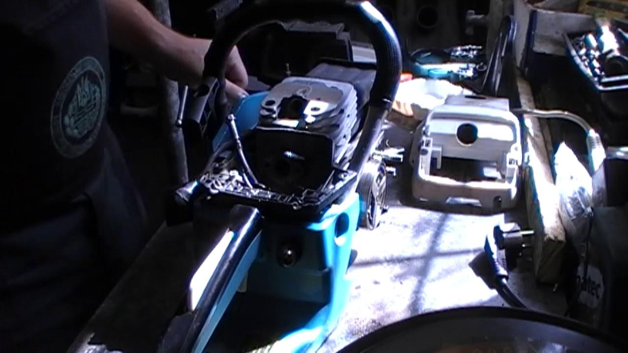 Диагностика основных поломок и ремонт бензопилы Makita