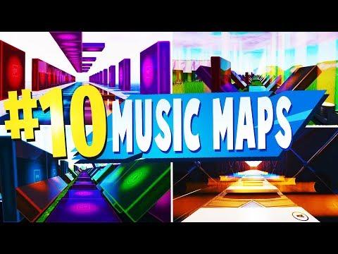 Top 10 Best MUSIC BLOCK Creative MAPS In Fortnite   Fortnite Music Map CODES