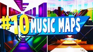 Top 10 Best MUSIC BLOCK Creative MAPS In Fortnite | Fortnite Music Map CODES