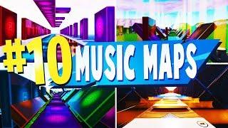 Top 10 des meilleures CARTES créatives MUSIC BLOCK à Fortnite (fr) Code de carte de la musique Denite
