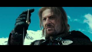 Fellowship of the Ring - Boromir tries to take the ring from Frodo