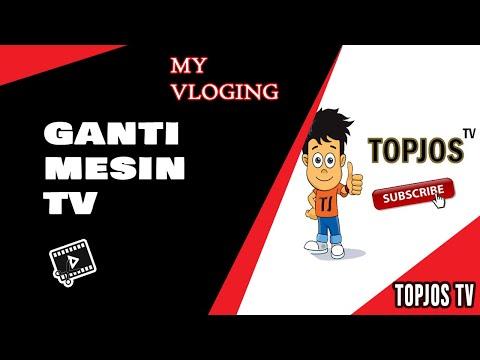 CARA GANTI MESIN TV TABUNG