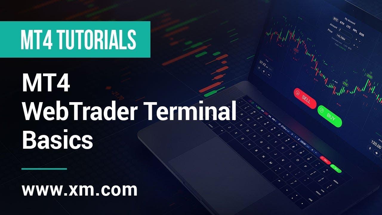 Xm Com Mt4 Tutorials Mt4 Webtrader Terminal Basics 2018