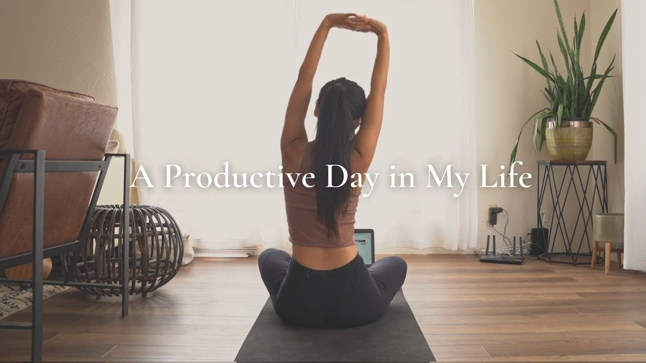 My REALISTIC Productivity Routine I Getting My Life Together