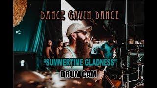 Dance Gavin Dance Summertime Gladness Drum Cam LIVE