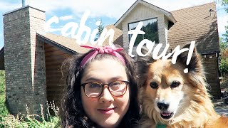 inside my cabin house tour