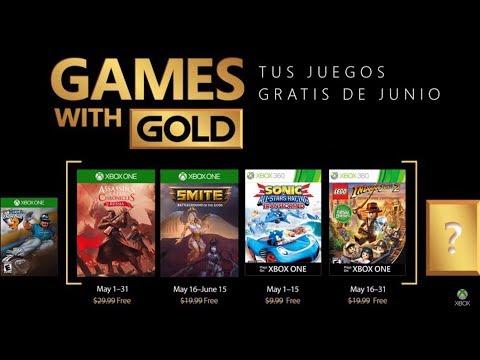 Juegos Con Gold Xbox One Y Xbox 360 Junio 2018 Youtube